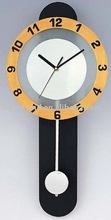 modern antique pendulum wall clock for home decorative