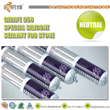 Non-Contaminative Neutral Silicone Sealant for Stone