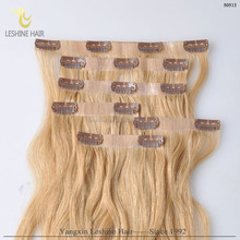 2015 China Supplier Private Label Top Grade 6a7a8a Unprocessed clip on hair extensions walmart hair