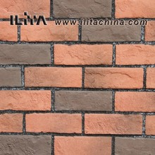 Thin Brick Silicon Brick Red Artificial Bricks