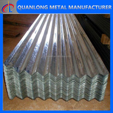 galvanized corrugated steel roof tile
