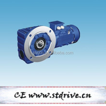 S series high precision worm reduction gearbox with motor unit