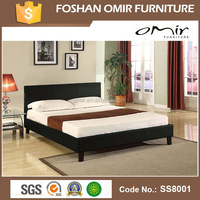 SS8001 factory price wrought iron double bed
