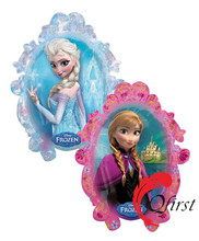 Wholesale frozen balloon else and anna party decoration balloons helium foil balloon as kids toys