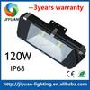 outdoor warranty waterproof IP68 120w led flood light CE&ROHS 3years warranty factory price