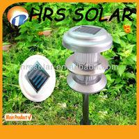 Alminum Garden Light New Design, lighthouse solar lights for garden
