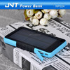 Customized waterproof portable solar power bank 6500mah with CE,ROHS ,FCC