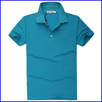 2015 fashional men's dry fit polo shirts wholesale factory custom plain polo shirt design