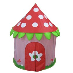 Hot sale mushroom castle play house for kids games, children toy and hidden object games