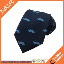 wholesale custom made cute design 100% silk ties for men