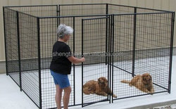 luxury metal dog kennel for sale