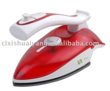 Teflon-coated Dual Voltage Travel Steam Iron with Vertical Steaming and Burst steaming,handle flexible