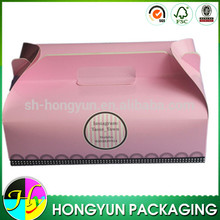 Customized design paper cupcake box for 12 cupcakes