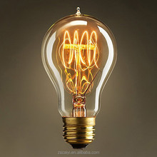 Factory direct supply e27 220V 40w clear decorative filament vintage light bulb