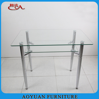 Used Dining Room Furniture for Sale of Cheap Glass Dining Table
