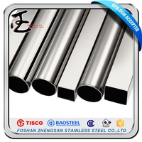 Mirror Finsh 2B Stainless Steel Pipe Sus304 Material Specification