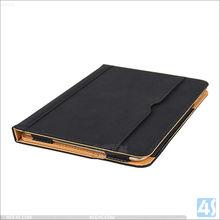 Card slot leather case for Ipad mini 4, tan leather case for Ipad mini 4