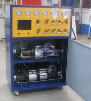 SUNCENTER oil well heads and diesel engine pressure test equipment