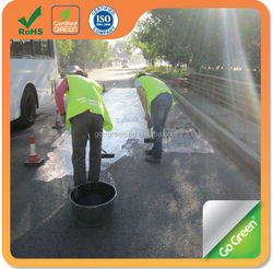 Go Green black color asphalt pavement sealer coating