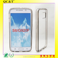 Factory price Mobile phone TPU+PC Pudding Case for Samsung S6 G920