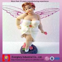 Fat Angel Figurine Fat Woman Figure ABS On sales