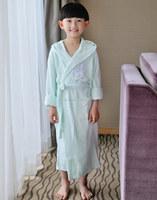 OEM unique factory best sale children bamboo boys bathrobe