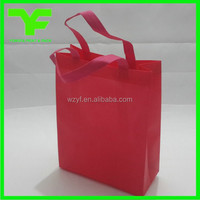 China customized printing tote carrying promotional non woven bag