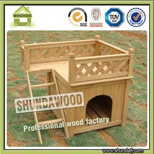 SDD01 wooden dog kennel pet product
