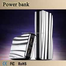 Latest 2 usb Portable Power Bank travel charger external battery with LCD screen led