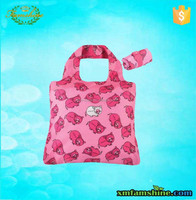 promotional shopping nylon cute folding bag