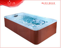 Luxury acrylic swimming pool fiberglass pool/inground pool