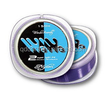 Hot-saled 3 colors fishing line tapered shock leader fishing line