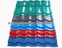 Color Coated Steel Roofing Tile/Galvanized Coated Steel Tiles