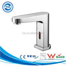 Touchless water saving infrared/motion sensor faucet