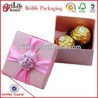 High Quality Fashion Wedding small chocolate box Wholesale In Shanghai