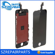high copy mobile phone for iphone 5s refurbished for iphone smartphone spare parts lcd for iphone 5s lcd screen