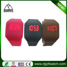 Newest Intercrew sports LED silicone Watch--Happy New Concept Of Watches