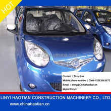pure 4 wheel right hand driving RHD electric car for sale
