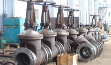 High Pressure 4 inch water cast iron butt welding gate valve