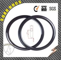 50mm clincher bike rims Soarrocs cheap carbon wheel carbon clincher carbon fiber road bike wheel 23mm width 50mm clincher wheels