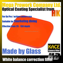 orange filter white balance correction filter for snorkeling for go pro for hero 3 3+ 4