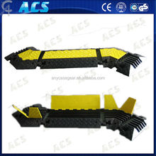 2 3 4 5 channels heavy duty cable protector floor cable management for outdoor use