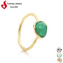 2015 fashion jewelry opal emerald ring