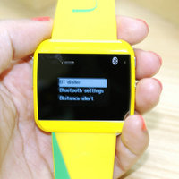 """New arrival 1.11""""smart led watch phone call forwarding bluetooth hand watch"""