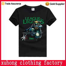 Cheap factory price brand t shirts made in china