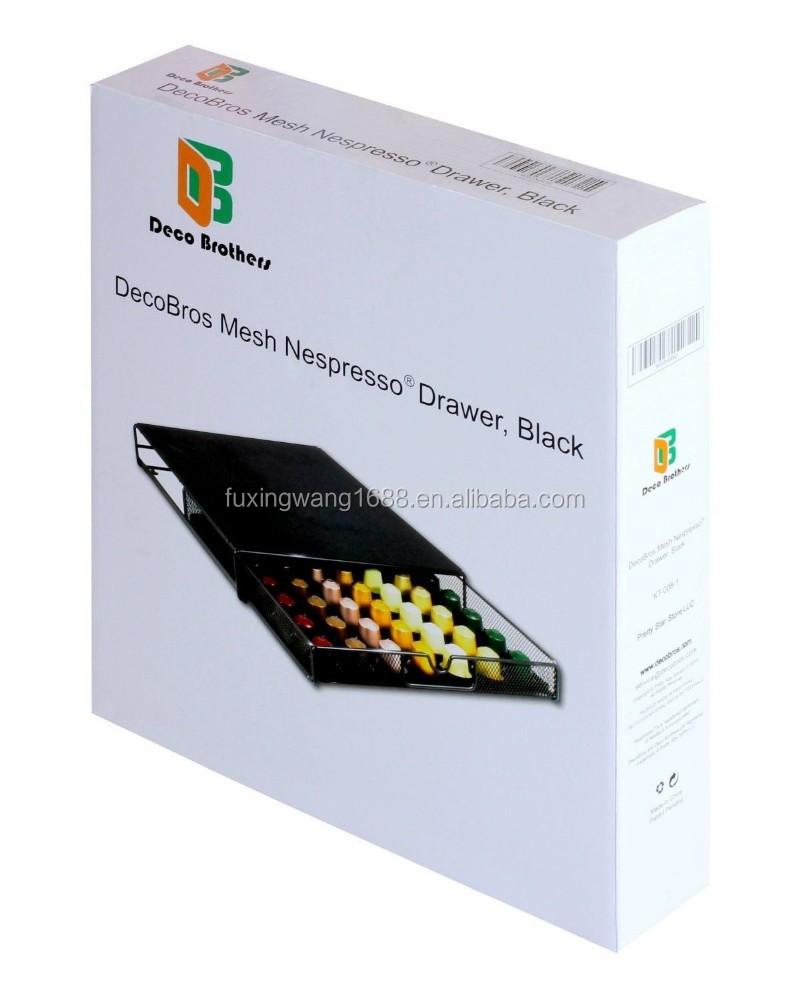 Dosette de caf de rangement maille nespresso tiroir support pour 56 capsules - Nespresso rangement capsules ...