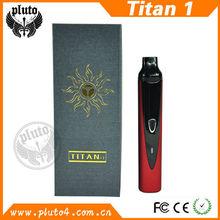 2200mah dry herb vaporizer e cigarette vapor kit TITAN II factory price
