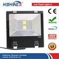 Color cambio exterior proyector led, caliente 100 W llevó la luz del proyector, bridgelux impermeable luz