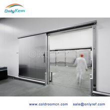 portable container cold room with PU sandwich panels and sliding door