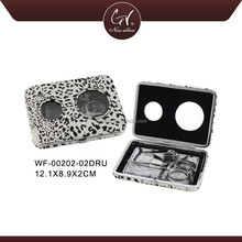 Leopard Printed Manicure Pedicure Instruments, Mini Lady Travel 2 In 1 Manicure And Pedicure